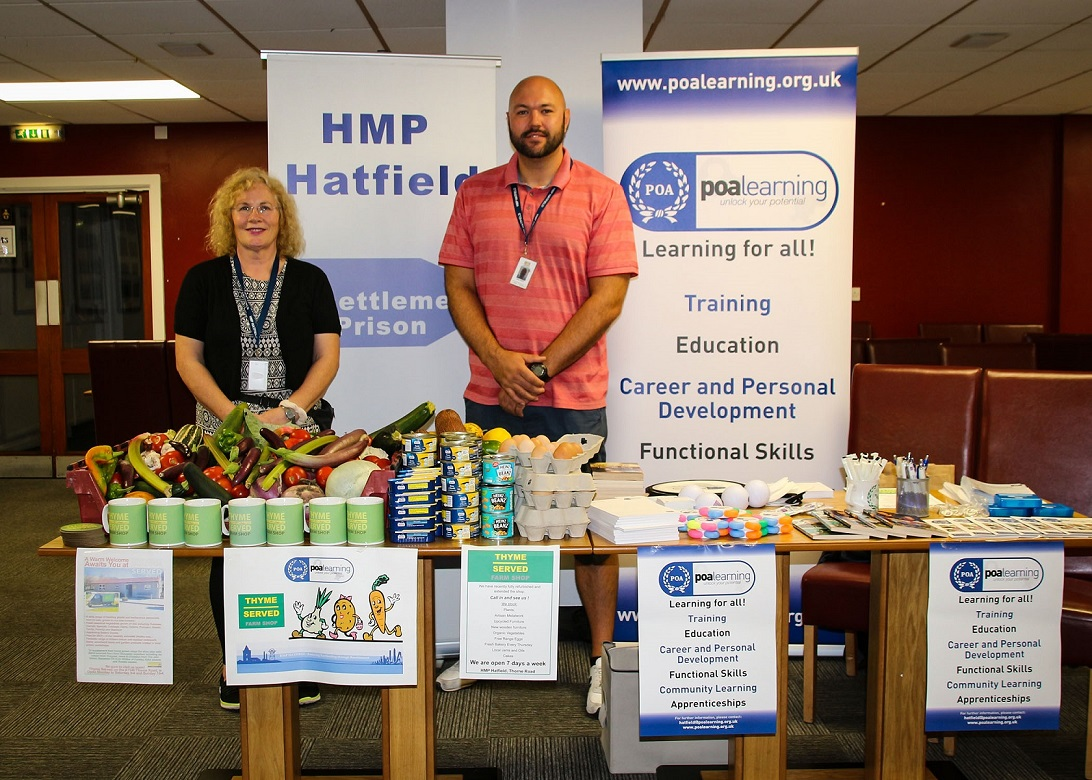 POA Learning from HMP Hatfield support family day