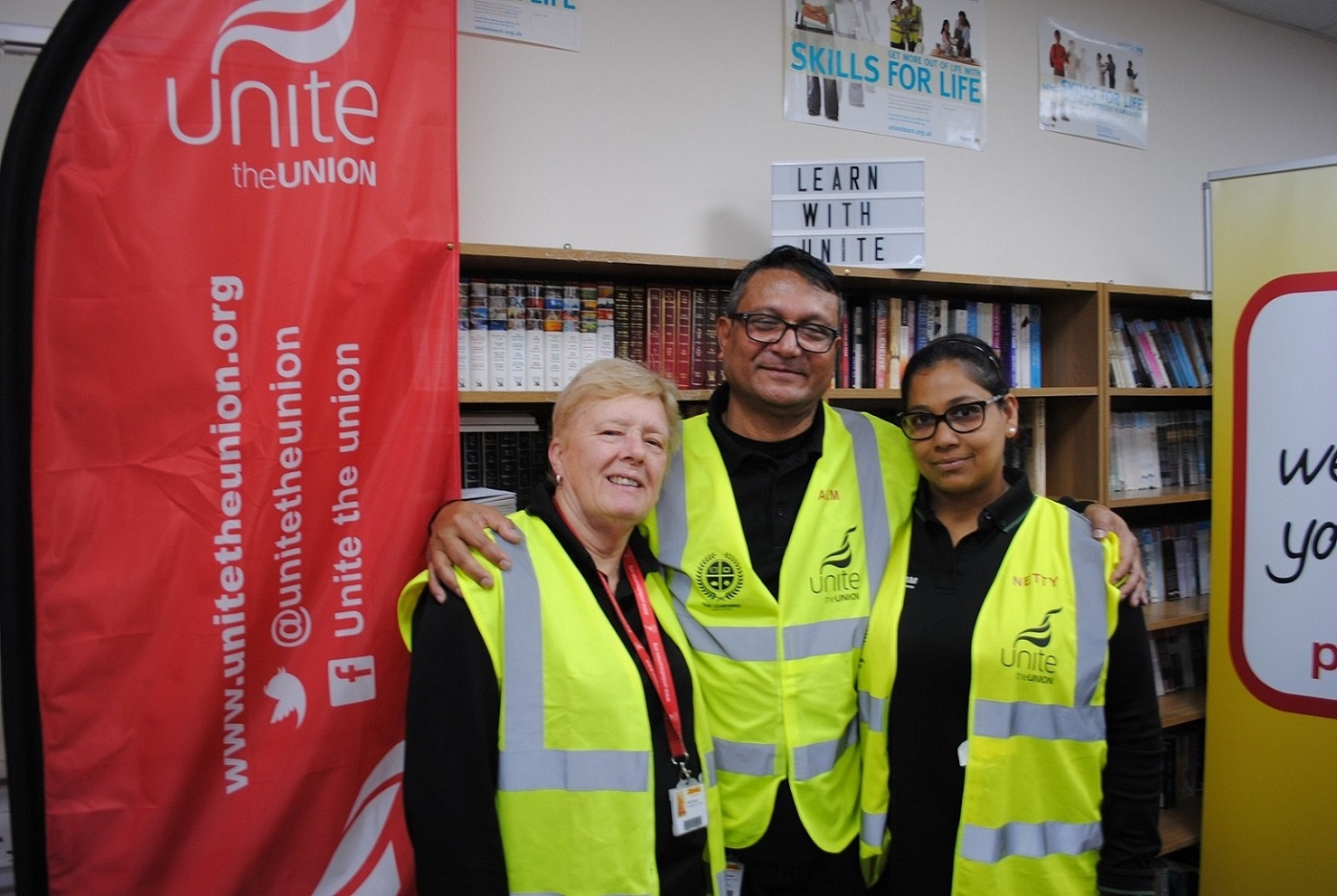 Unite ULRs in Swindon have revitalised workplace learning.