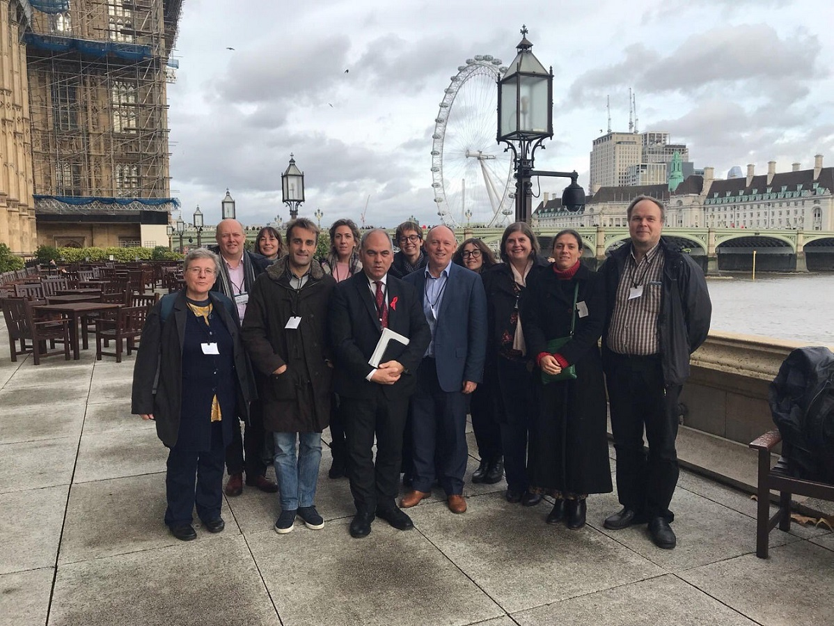 European partners visit parliament