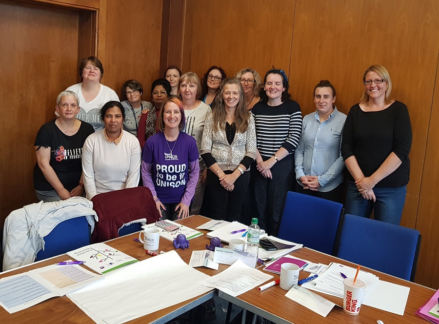 Unison helps members build confidence