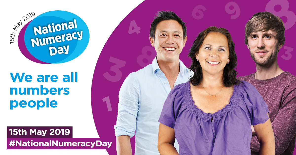 National Numeracy Day banner