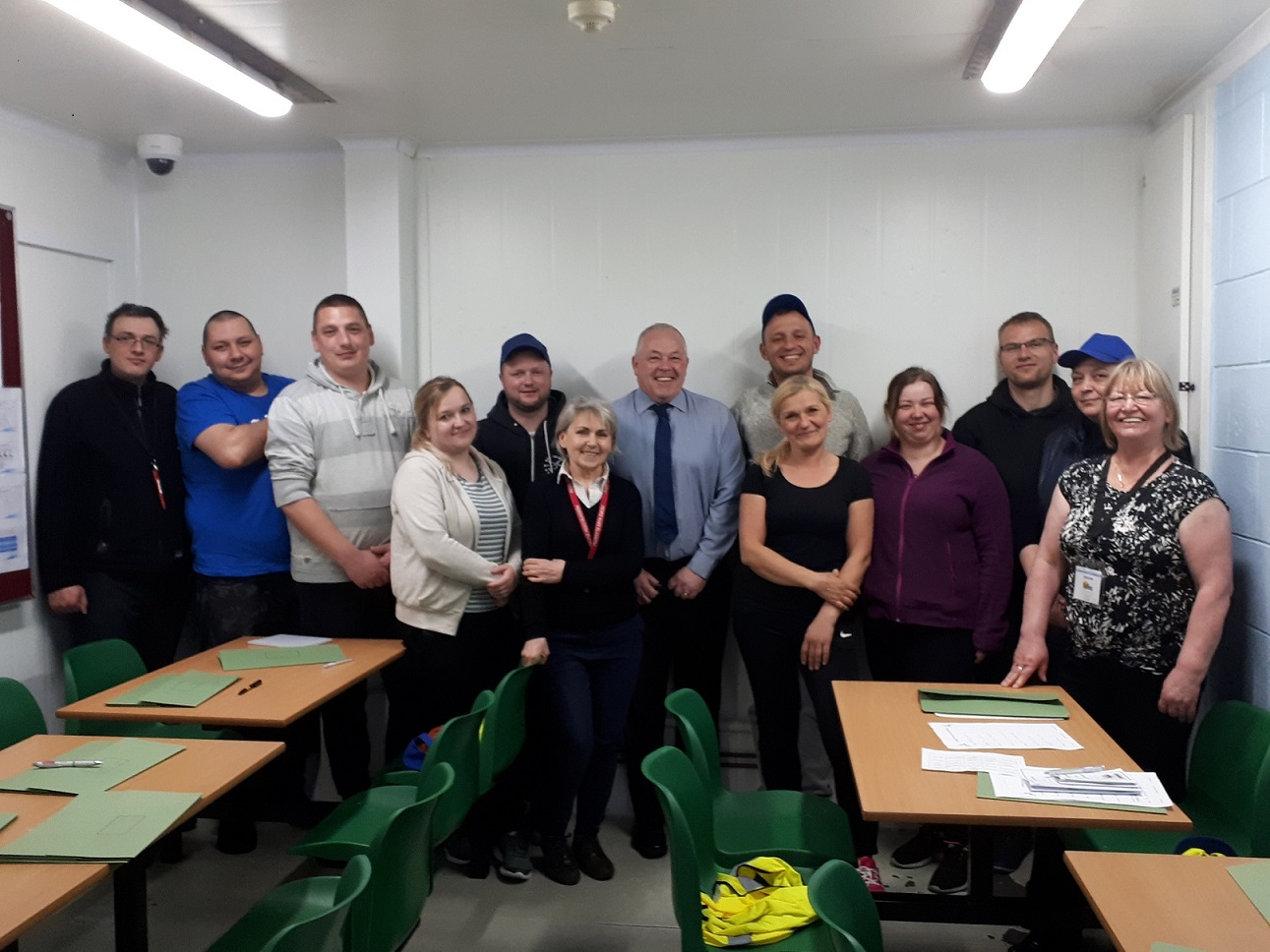 Fyffes workers take up learning