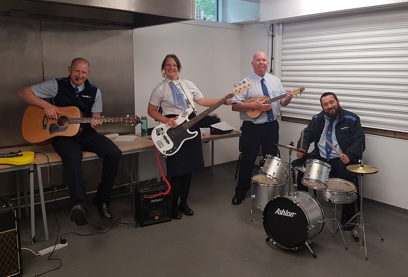 Unite members band together to support learning