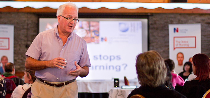 Kevin Pascoe delivers a union learning workshop ©Private