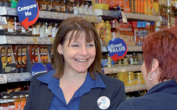 Kathy Coveney, Tesco Compliance Manager - a retail Fd student
