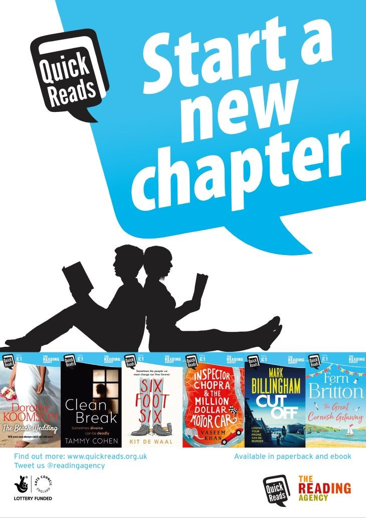 2018 quick reads announced unionlearn quick reads have proved extremely popular with union learning reps to promote literacy at work through union learning centres workplace reading clubs and fandeluxe Images