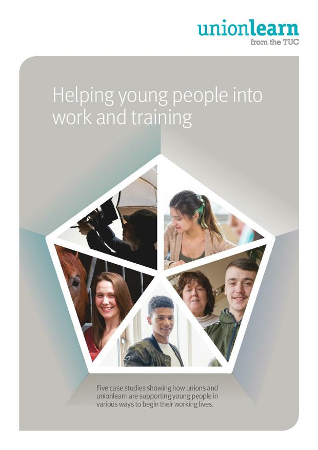 Helping young people into work and training