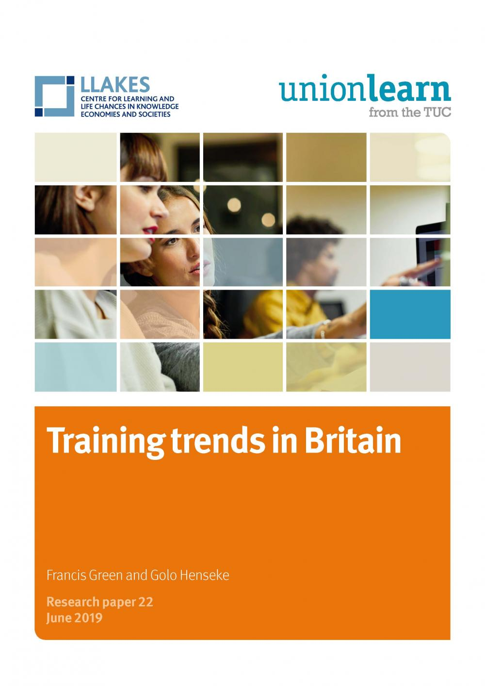 Training trends in Britain