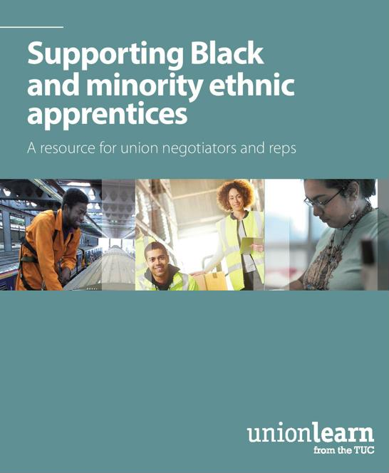 Supporting Black and minority ethnic apprentices