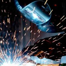 picture of apprentice welding